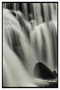 Bald River Falls Detail #1 by Ron Plasencia