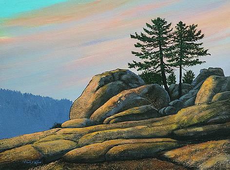 Frank Wilson - Bald Rock At Sunset