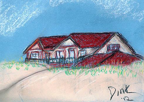 Baldhead Island by Dink Densmore