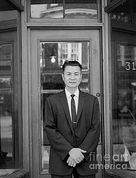 Baldwin Street Man by Lionel F Stevenson