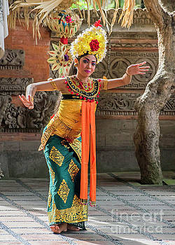 Bali Dancer by Jim Chamberlain