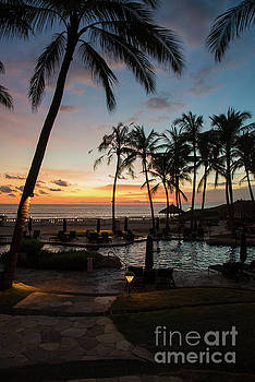Bali Sunset by Sandy Molinaro