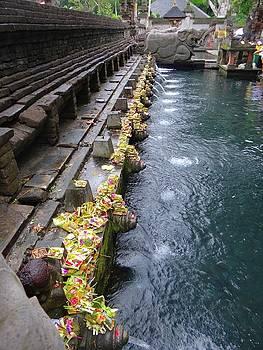 Bali temple offerings by Exploramum Exploramum