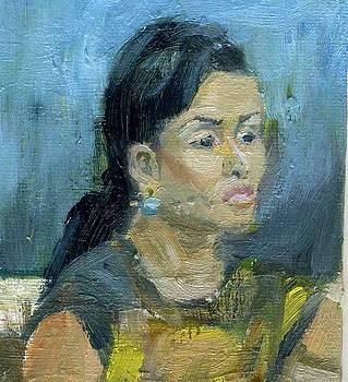 Bali Woman Study by Lelia Sorokina