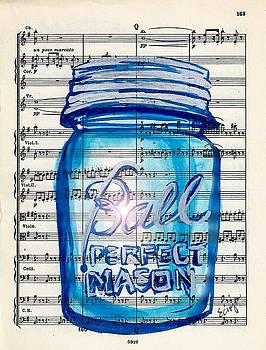 Ball Mason Jar Classical #168 by Ecinja