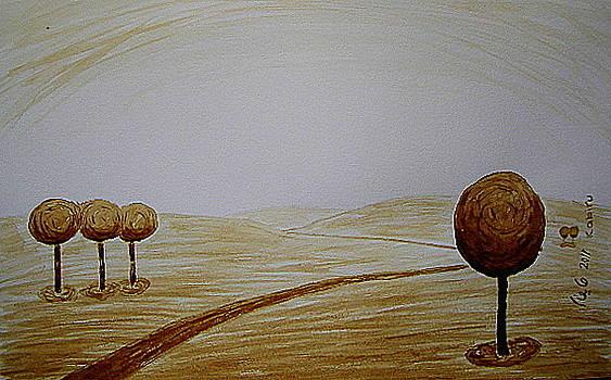 Ball Trees by Maina  Kabiru