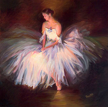 Ballerina Ballet Dancer Archival Print by Patti Trostle