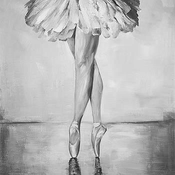 Ballerina Classic Steps by Atelier B Art Studio
