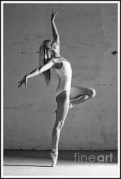 Ballerina dancing by Michael Edwards
