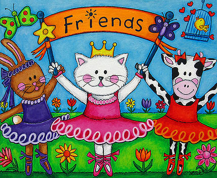 Ballerina Friends by Lisa  Lorenz