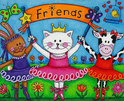 Ballerina Friends by Lisa  Lorenz