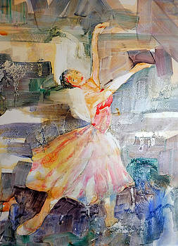 Ballerina in Motion by Mary Haley-Rocks