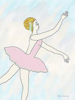 Ballerina in Pink by Rosalie Scanlon