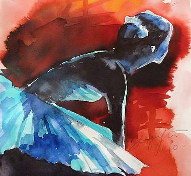 Ballerina in waiting by Shagufta Mehdi