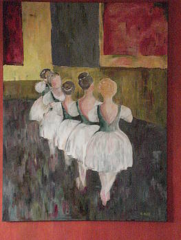 Ballerinas Two by Kimberly Hill