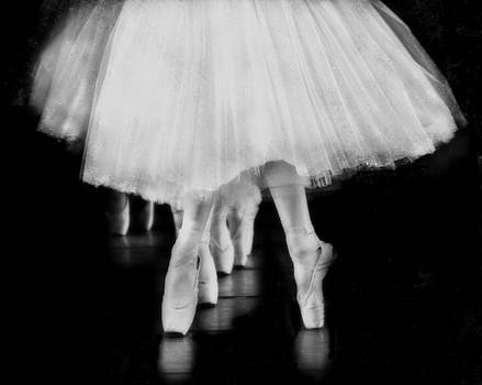 Ballet Black and White by Kevin Moore