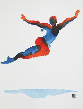 Ballet Dancer 1 Flying by Shungaboy X