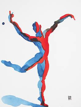 Ballet Dancer 3 Gesturing by Shungaboy X
