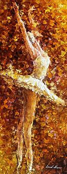 Ballet Of The Soul - PALETTE KNIFE Oil Painting On Canvas By Leonid Afremov by Leonid Afremov