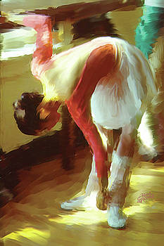 Ballet Rehearsal  by Bland Lipscomb