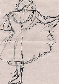 Ballet stretch by Laura Seed