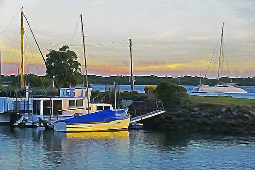Dennis Cox WorldViews - Ballina Boats