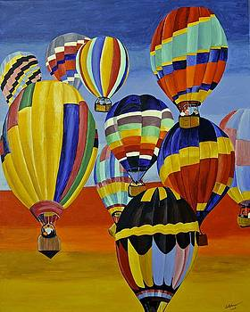 Balloon Expedition by Donna Blossom