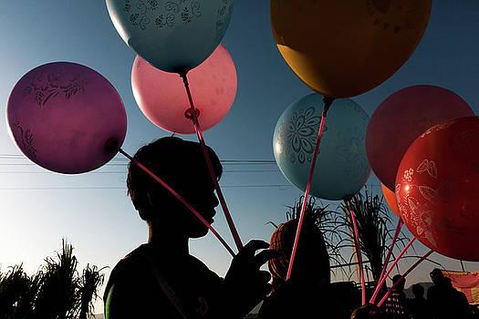 Mahesh Balasubramanian - Balloon Seller at Pushkar