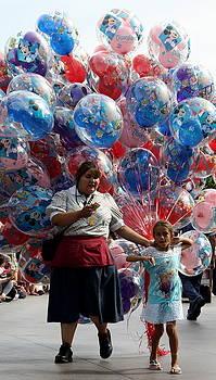 Balloon Seller by David Nicholls