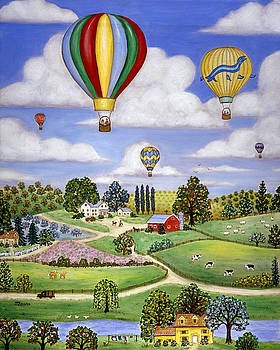 Linda Mears - Ballooning in the Country One