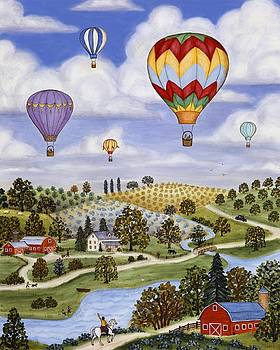 Linda Mears - Ballooning in the Country Two