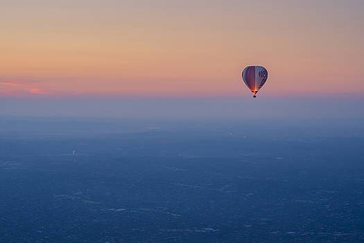 Ballooning in the Haze by Ray Warren