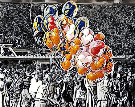Balloons at Disneyland   by Derek Bratton