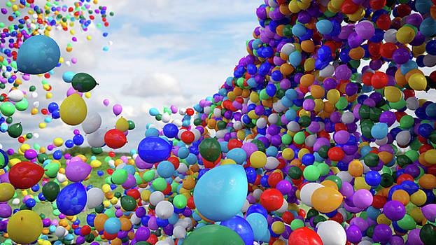 Balloons by David Oakill