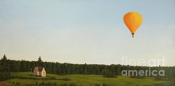 Balloons in Prince Edward Island by Phyllis Andrews