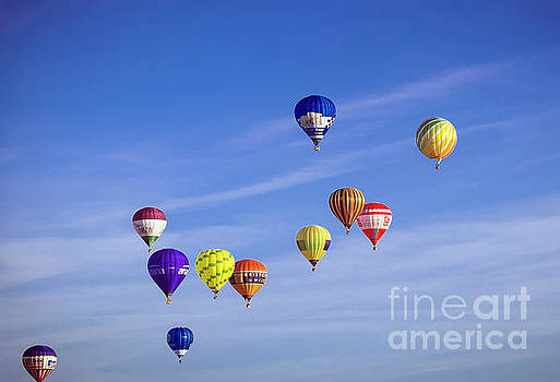 Balloons In The Air by Milena Boeva