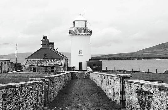Ballyglass Lighthouse mono by Peter Skelton