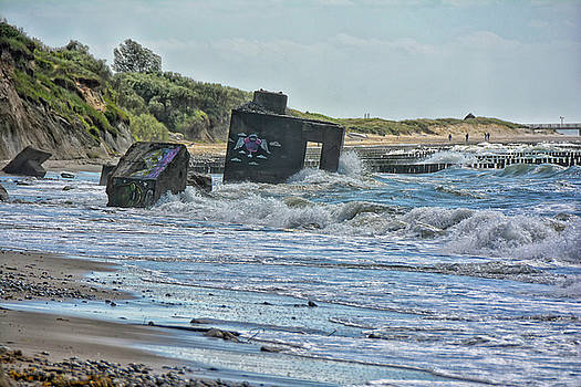 Baltic Seashore by Joachim G Pinkawa
