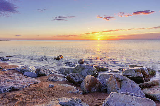 Baltic sunrise by Dmytro Korol