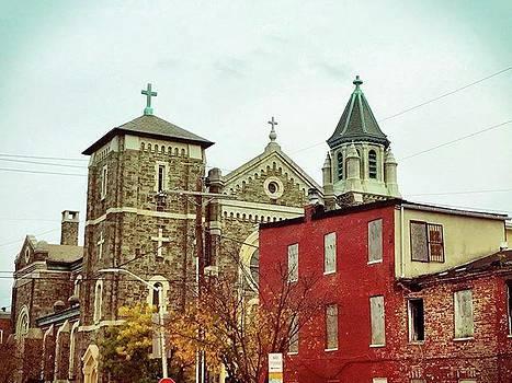 Baltimore || #city #baltimore #church by Megan Bishop