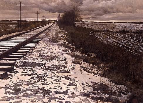 Baltimore and Ohio by Robert McGinnis