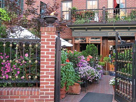 Baltimore Cafe          by  Jean Carton by Jerrold Carton