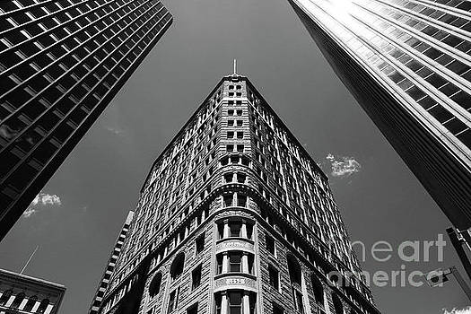 Baltimore Fidelity Building in Monochrome by James Brunker