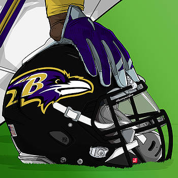 Baltimore football by Akyanyme