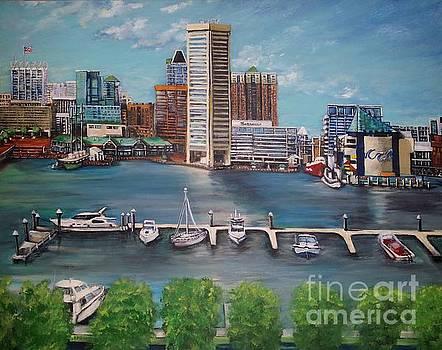 Baltimore Inner Harbor by Katie Adkins