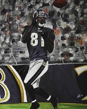 Baltimore Ravens Anquan Boldin by Kim Selig