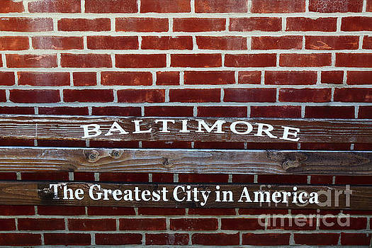 Baltimore The Greatest City In America by James Brunker