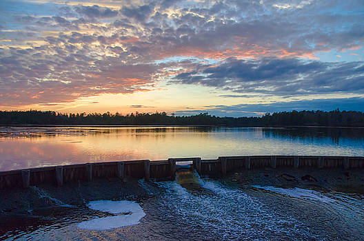 Bamber Lake Sunset by Beth Sawickie