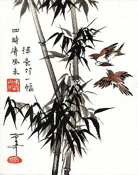 LINDA SMITH - Bamboo and Birds