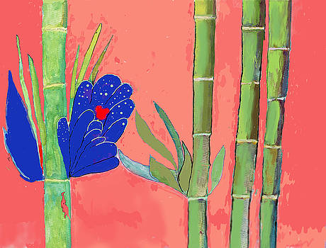 Bamboo Flower by David Jackson